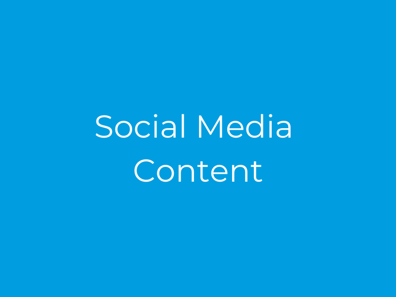 Social Media Content