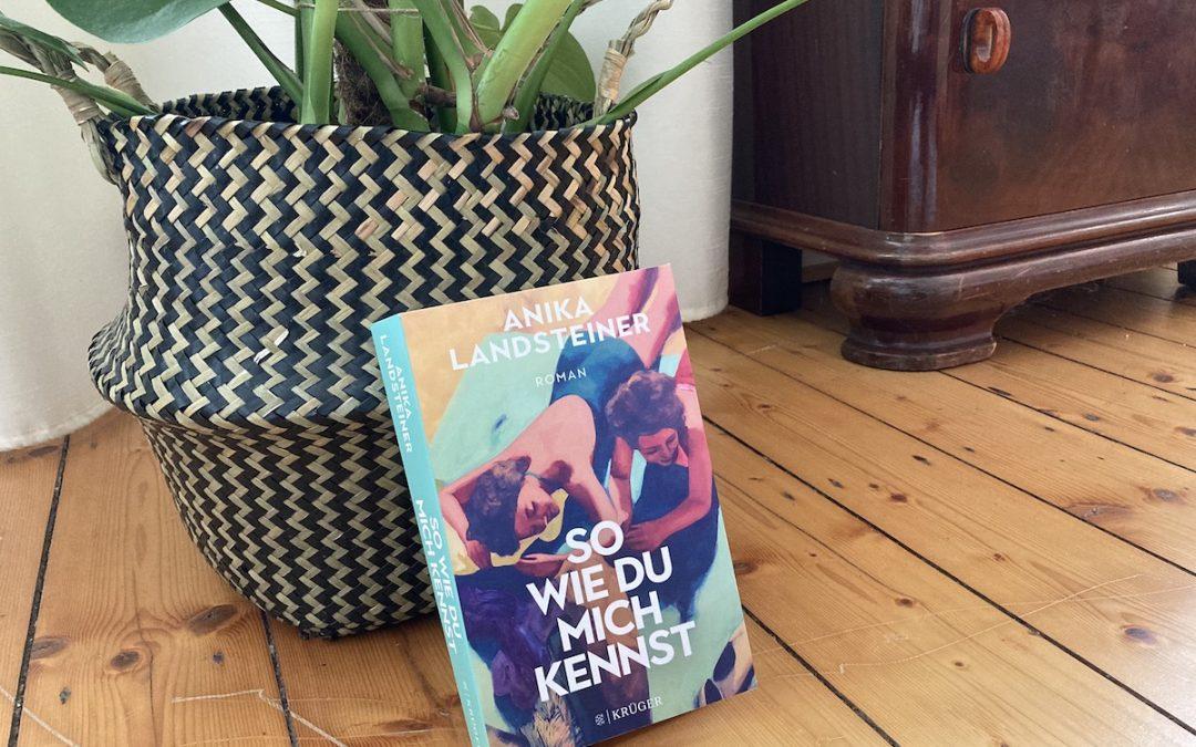 Buchrezension von So wie du mich kennst von Anika Landsteiner